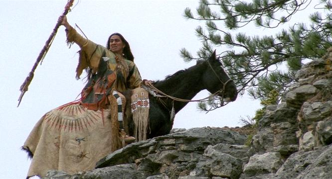 Image result for rodney a grant 'wind in his hair' in dances with wolves