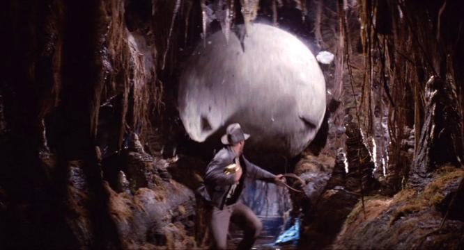 Raiders of The Lost Ark, αξέχαστη σκηνή