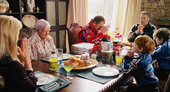 meet the parents dinner scene from talladega