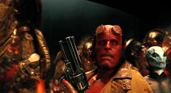 On golden army scene from hellboy 2 the golden army movie 2008